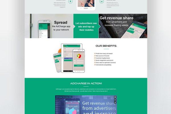 AdCharge мобилно приложение - Уебсайт от Speedflow - Дигитални услуги 1