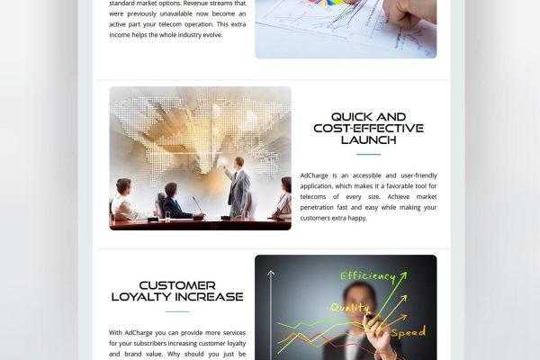 AdCharge мобилно приложение - Уебсайт от Speedflow - Дигитални услуги 2