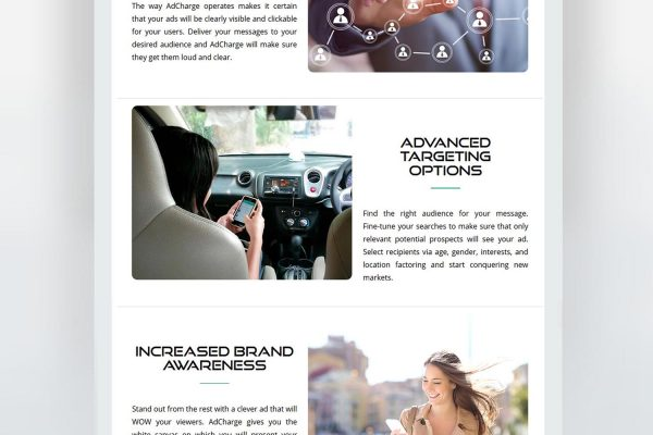 AdCharge Website by Speedflow Bulgaria - Digital services provider - screenshot 3