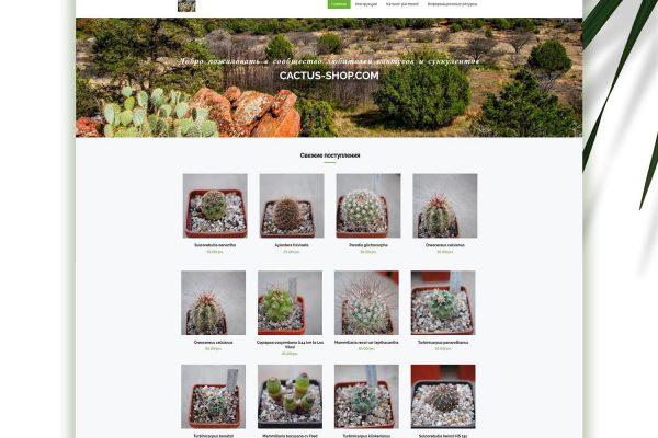 Онлайн магазин Cactus Shop от Speedflow Bulgaria - скрийншот 2