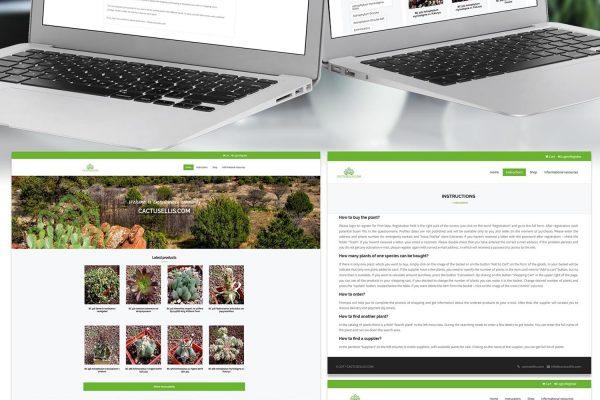 Cactusellis online shop by Speedflow Bulgaria - your business solution - screenshot 3