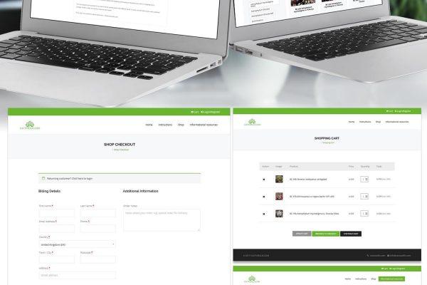Онлайн магазин Cactusellis от Speedflow - Вашето бизнес решение - скрийншот 1
