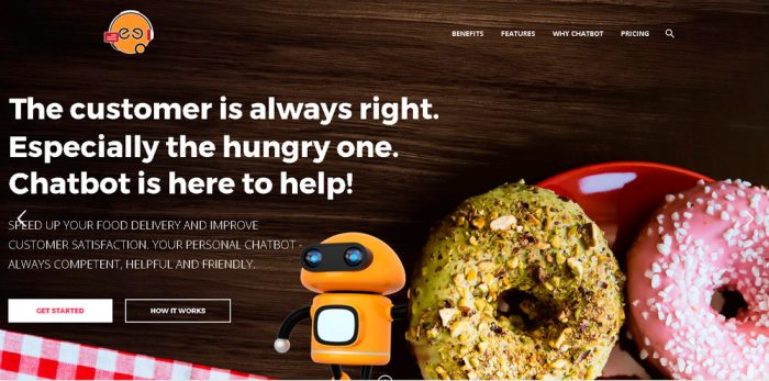 Chatbot - your food delivery application developed by Speedflow Bulgaria