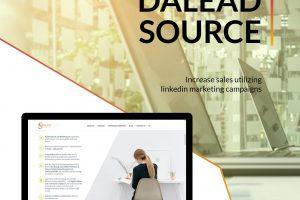 DaLead Source Уебсайт разработен от Speedflow Bulgaria