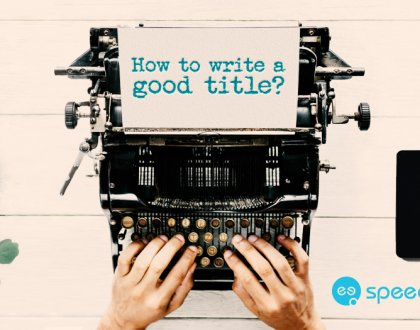 How to write a good title for a blog article or e-book