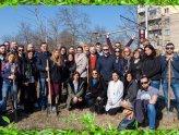 Засадихме 15 чинара за рождения ден на Speedflow