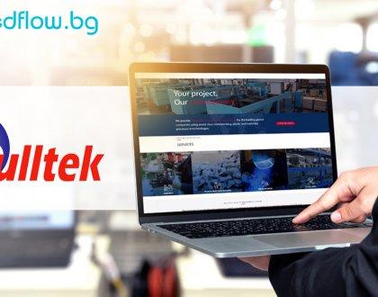 Създадохме напълно персонализиран WordPress сайт за Буллтек